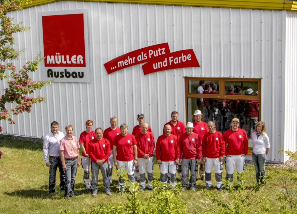 Unser Team von Müller Ausbau