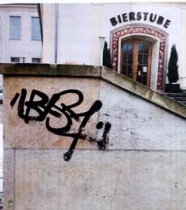 Graffitiwehr im Einsatz